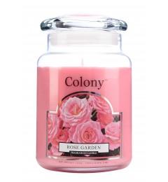 Mirisna sveća u tegli 150h - Ružičnjak