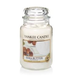 Mirisna sveća u tegli L - Shea Butter (karite maslac, bergamot, vanila, mošus)