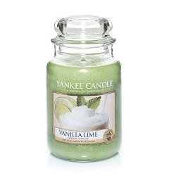 Mirisna sveća u tegli L - Vanilla Lime (vanila i limeta)