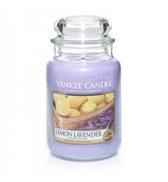 Mirisna sveća u tegli L - Lemon Lavender (limun i lavanda)