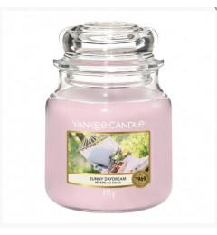 Mirisna sveća u tegli M - Sunny Daydream (cveće, pačuli, bergamot, sandalovina)