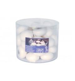 Plutajuće sveće 33 kom - Krem