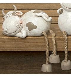 Ukrasna figura kravica, 17 cm