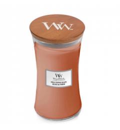 Wood Wick Mirisna sveća u tegli L - Chilli Pepper Gelato (limun, crni biber, vanila)