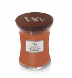 Wood Wick Mirisna sveća u tegli M - Chilli Pepper Gelato (limun, crni biber, vanila)
