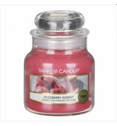 Mirisna sveća u tegli S - Roseberry Sorbet (grožđe, narandža, ruža, vanila)