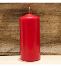 Sveća valjak 15x7cm - crvena