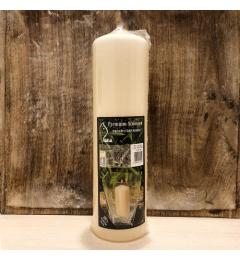 Sveća valjak 29x8cm - krem