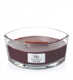 Wood Wick Mirisna sveća u ovalnoj tegli - Black Cherry (trešnja)