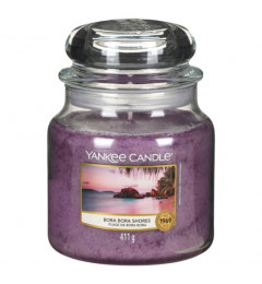 Mirisna sveća u tegli M - Bora Bora Shore (egzotično cveće i voće)