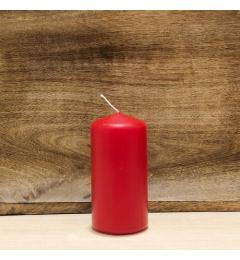 Sveća valjak 10x5cm - crvena