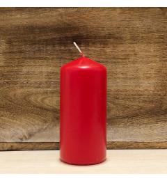 Sveća valjak 13x6cm - crvena