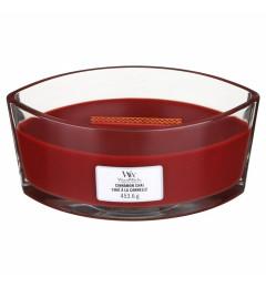 WoodWick mirisna sveća u ovalnoj tegli - Cinnamon Chai (cimet)