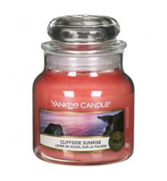 Mirisna sveća u tegli S - Cliffside Sunrise (nektarine, jagoda, hibiskus)