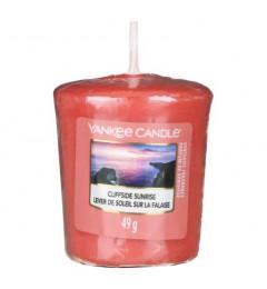 Mala mirisna sveća za čašice - Cliffside Sunrise (nektarine, jagode, hibiskus)