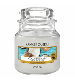Mirisna sveća u tegli S - Coconut Splash (kokos, lubenica i mango)