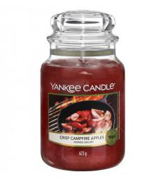 Mirisna sveća u tegli L - Crisp Campfire Apples (jabuka, cimet, karanfilić, mandarin)