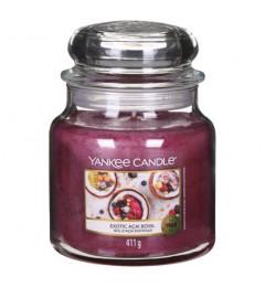Mirisna sveća u tegli M - Exotica Acai Bowl (kokos, crne ribizle, trešnje, vanila)