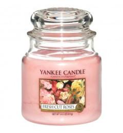 Mirisna sveća u tegli M - Fresh Cut Roses (ruža)