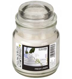 Mirisna sveća u tegli Bombonjera velika - Fresh Linen (Sveže opratno platno)