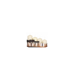 Set sveća / 4 kom - krem