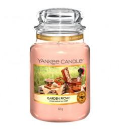 Mirisna sveća u tegli L - Garden Picnic (kajsija, nektarina, kruška)