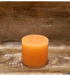 Rustična sveća valjak 8x7 cm Boja meda - 1 kom
