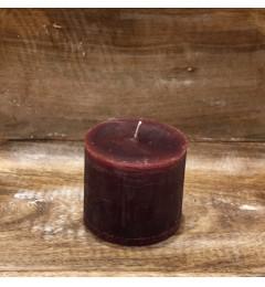 Rustična sveća valjak 8x7 cm  Violet - 1 kom