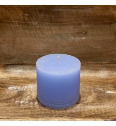 Rustična sveća valjak 8 x 7 cm Svetlo plava - 1 kom