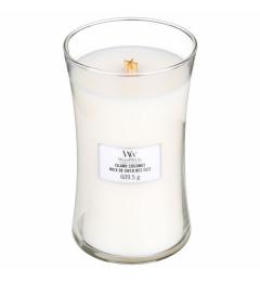 WoodWick mirisna sveća u tegli L - Island Coconut (ananas i kokos)