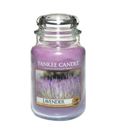 Mirisna sveća u tegli L - Lavender (lavanda)
