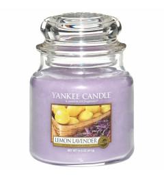Mirisna sveća u tegli M - Lemon Lavender (limun i lavanda)