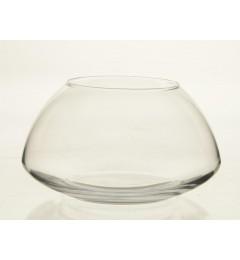 Staklena činija, saksija 15,5 x 17,5 cm - transparent DOSTUPNO SAMO U MALOPRODAJI