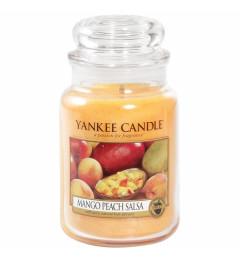 Mirisna sveća u tegli L - Mango Peach Salsa (egzotično voće)