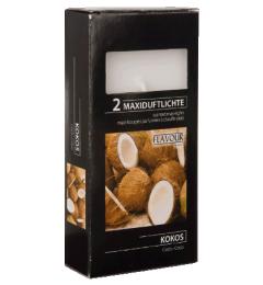 MAXI mirisne čajne sveće 2 kom - Kokos