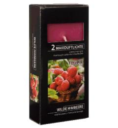 MAXI mirisne čajne sveće 2 kom - Divlja malina