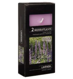 MAXI mirisne čajne sveće 2 kom - Lavanda
