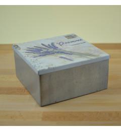 Metalna kutija sa lavandom