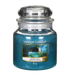 Mirisna sveća u tegli M - Moonlit Cove (citrus, đumbir, eukaliptus, kedar)