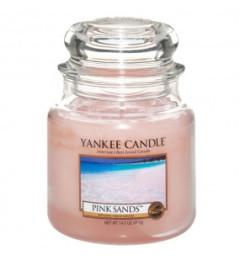 Mirisna sveća u tegli M - Pink Sands (citrusi, cveće i vanila)