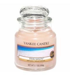 Mirisna sveća u tegli S - Pink Sands (citrusi, cveće i vanila)