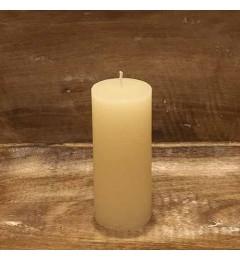 Rustična sveća valjak 5,5x12 cm Krem - 1 kom