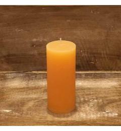 Rustična sveća valjak 5,5x12 cm Boja meda - 1 kom