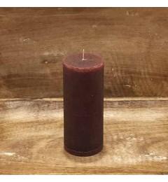 Rustična sveća valjak 5,5x12 cm  Violet - 1 kom