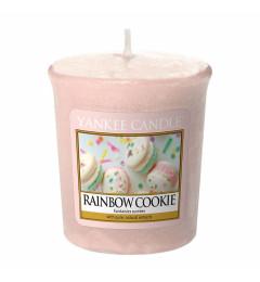 Mala mirisna sveća u čašici Rainbow Cookie (citrus, vanila, marakuja)