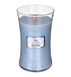 Wood Wick Mirisna sveća u tegli L - Seaside Neroli (neroli, lotos, lavanda, žalfija)