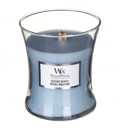 Wood Wick Mirisna sveća u tegli M - Seaside Neroli (neroli, lotos, lavanda, žalfija)