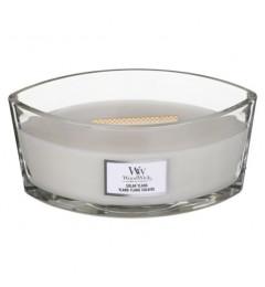 Wood Wick Mirisna sveća u ovalnoj tegli - Solar Ylang (bergamot, jasmin, tuberoza, sandalovina)