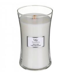 Wood Wick Mirisna sveća u tegli L - Solar Ylang (bergamot, jasmin, tuberoza, sandalovina)
