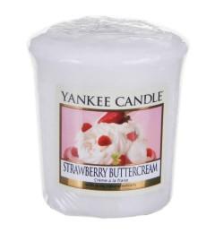 Mala mirisna sveća za čašice - Strawberry Buttercream (jagoda)